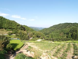 白木谷風景