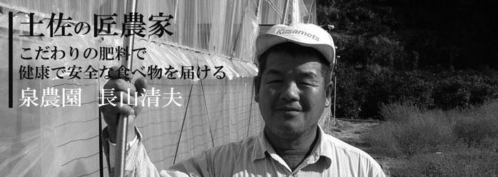 こだりの肥料で健康で安全な食べ物を届ける 土佐の匠農家/泉農園