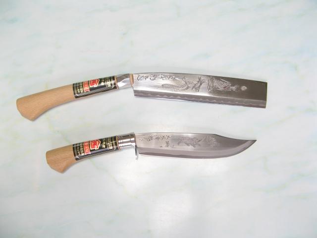剣鉈と腰鉈